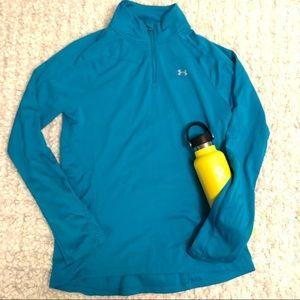 UNDER ARMOUR 1/2 Zip Heat Gear Shirt Jacket